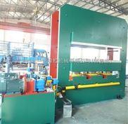 青岛鑫城一鸣800吨框式平板硫化机