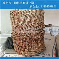 化纖維絲單股制繩打軸成型合繩機