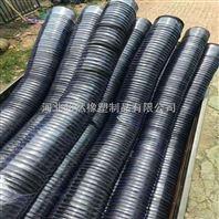 厂家直销橡胶伸缩管 黑色橡胶伸缩波纹管 大口径伸缩耐磨管 规格齐全