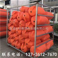 FT500汉川水上拦污浮桶,拦污排浮漂