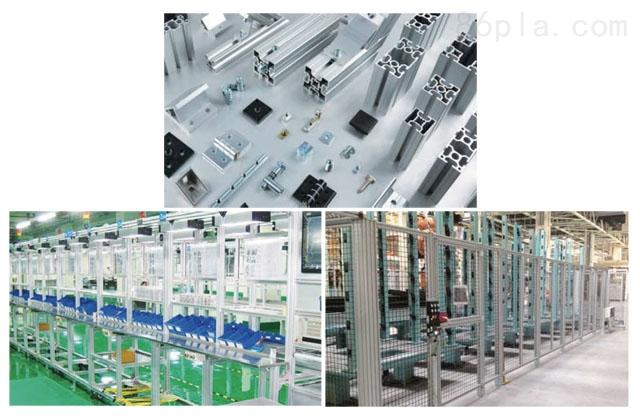 组装生产系统配件-无动力滚轮线-横向移载装置-90度翻转装置