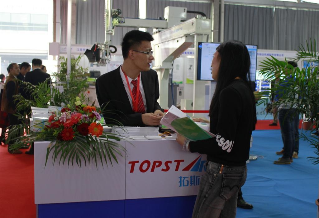塑博会:拓斯达工业机器人解放密集劳动力